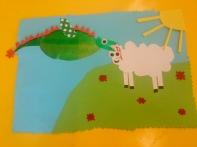 Drache und Schaf