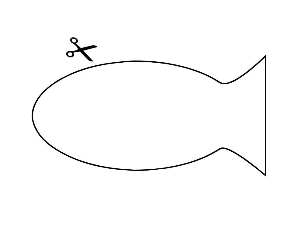 Fische lesenische - Fische basteln vorlagen ...