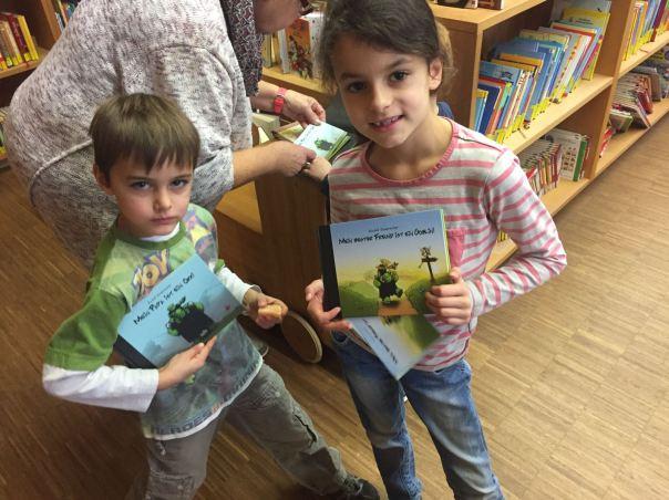 Bücher geschenkt bekommen!