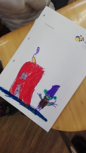 Kinderzeichnungen mit Orks und Goblins