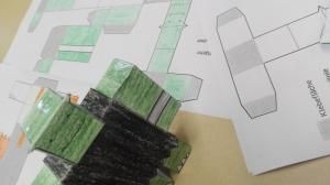 Papier-Ork zum Selberbasteln