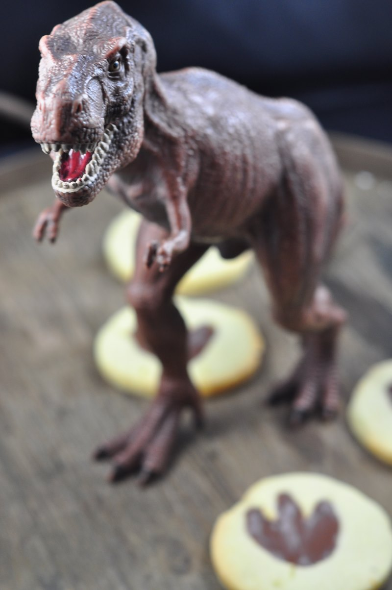 Dinosaurier-Kekse