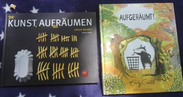 """Bücher: """"Die Kunst aufzuräumen"""" und """"Aufgeräumt!"""""""